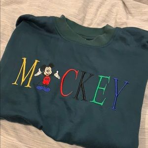Vintage oversized Mickey Mouse sweater